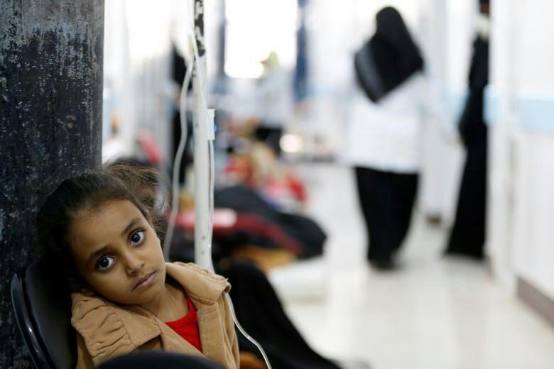 تصویر جان باختن 2 هزار یمنی بر اثر وبا و کمبود آب