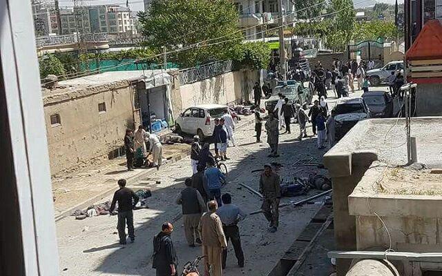 تصویر افزايش شمار قربانيان انفجار تروريستي در منطقه شيعه نشين کابل
