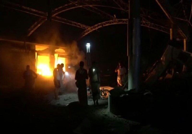 تصویر بیش از 30 شهید و مجروح در تازهترین حمله ائتلاف سعودی به یمن