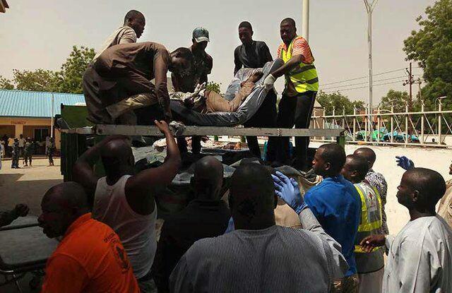 تصویر حمله مسیحیان افراطی به مسلمانان در نیجریه