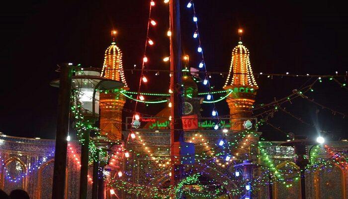 تصویر آمادگی کامل شهر مقدس کربلا برای برگزاری مراسم نیمه شعبان