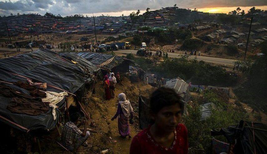تصویر جان ۷۰۰ هزار پناهنده در اردوگاه های بنگلادش در خطر است