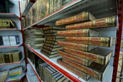 تصویر مشارکت آستان مقدس عباسی در سی و یکمین نمایشگاه بینالمللی کتاب تهران