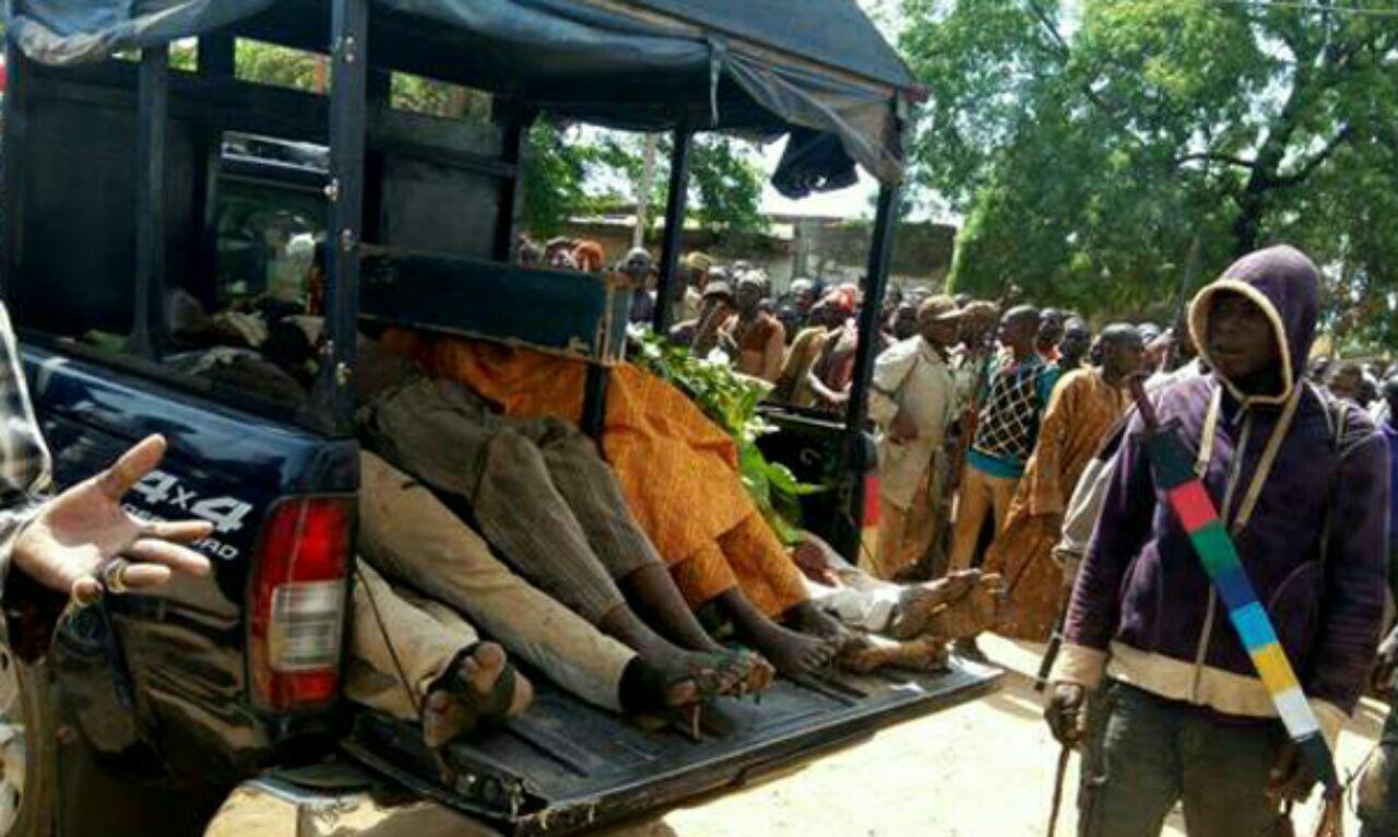 تصویر قتل عام ساکنان یک روستا در ایالت شیعه نشین نیجریه