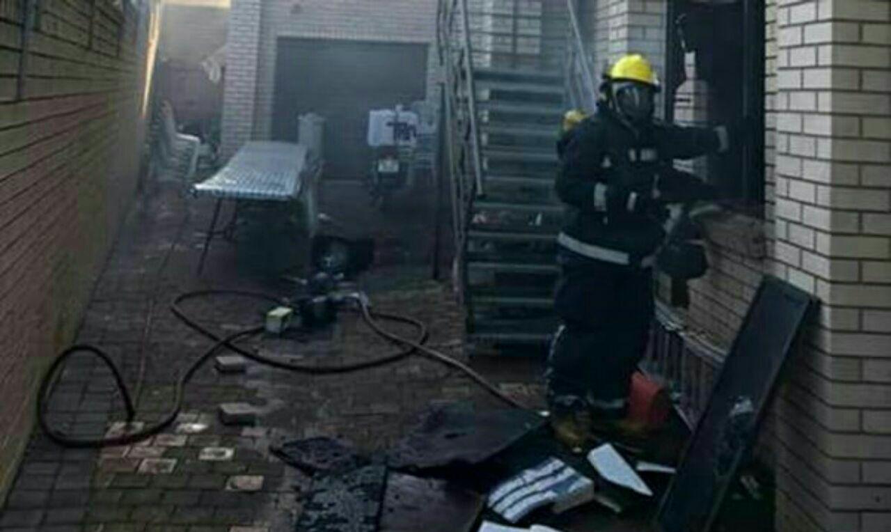 تصویر حمله به یکی از مساجد شیعیان در آفریقای جنوبی
