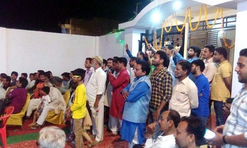 تصویر افتتاح حسینیه حضرت ام البنین سلام الله علیها در کشور هندوستان به همت انجمن الثقلین