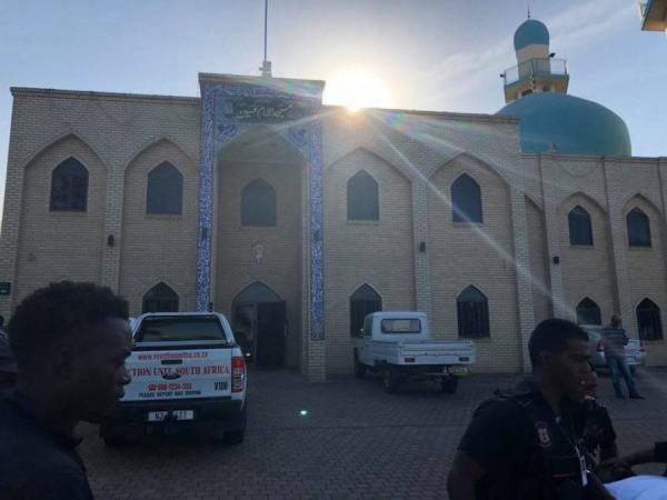 تصویر محکومیت هتک حرمت مسجد امام حسین علیه السلام در افریقای جنوبی از سوی سازمان جهانی شیعه رایتس واچ