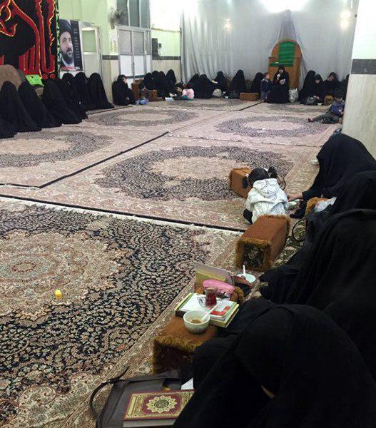 تصویر افتتاح حوزه علمیه زینبیه در شهر مقدس کربلا