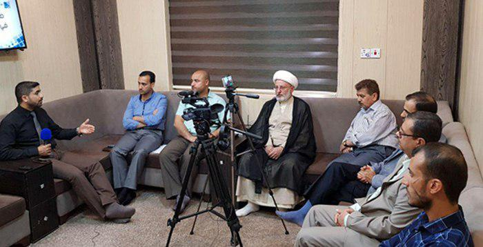 تصویر بررسی تضمین های عدالت حضور نمایندگان در انتخابات عراق در مرکز آدم