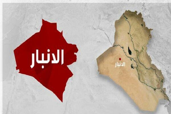 تصویر تخریب سه پناهگاه داعش در «الانبار» عراق