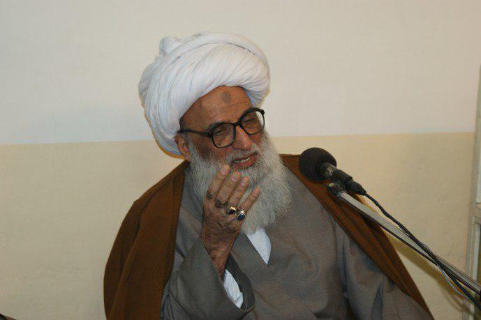 تصویر آیت الله العظمی بشیر النجفی: خوشبخت کسی است که از شب و روز ماه رمضان استفاده کند
