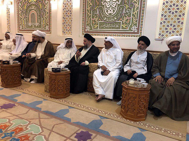 تصویر ادامه فعالیت های فرهنگی و دینی آیت الله سید حسین شيرازی در کشور کویت