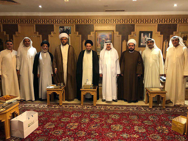 تصویر فعالیت های اخیر آیت الله سید حسین شیرازی در کشور کویت