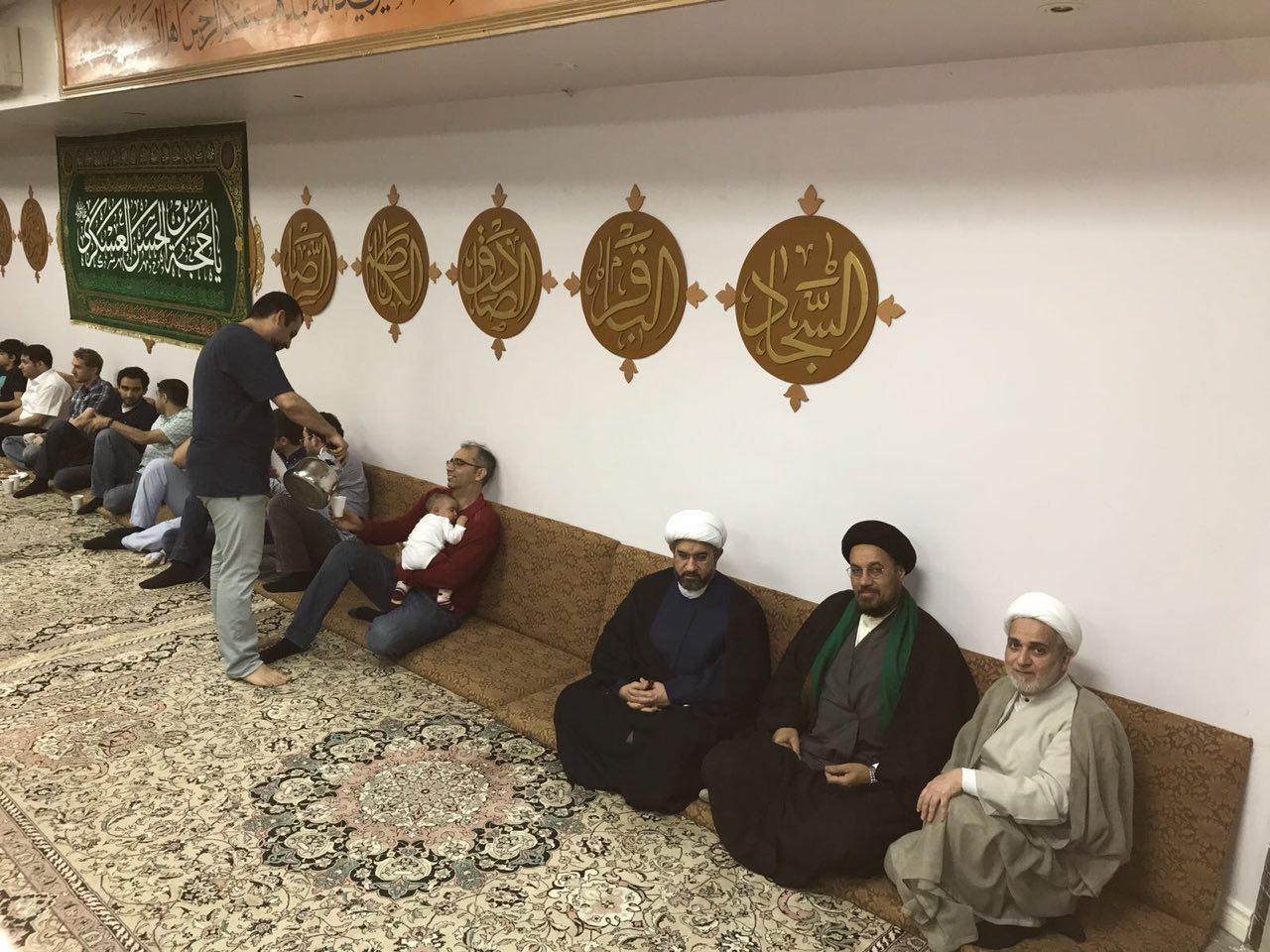 تصویر فعالیت های رمضانی مرکز جهانی آیت الله العظمی شیرازی در کشور کانادا