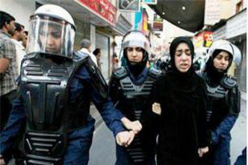تصویر وضعیت دو دختر بازداشت شده بحرینی همچنان نامعلوم است