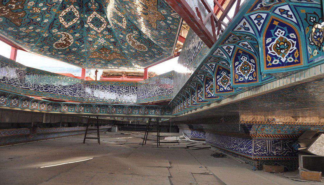 Photo of پیشرفت 85 درصدی پروژه مسقف سازی خیمهگاه حسینی