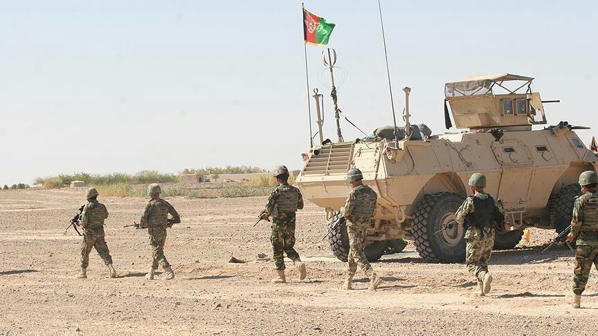 تصویر هلاکت تعدادی داعشی در شرق افغانستان