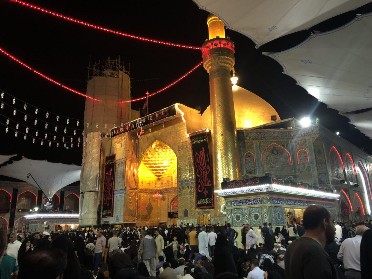 Photo of گزارش تصویری حرم مطهر امیرالمومنین علیه السلام در شب ضربت خوردن مولای متقیان شهر مقدس نجف – شب ۱۹ رمضان ۱۴۳۹
