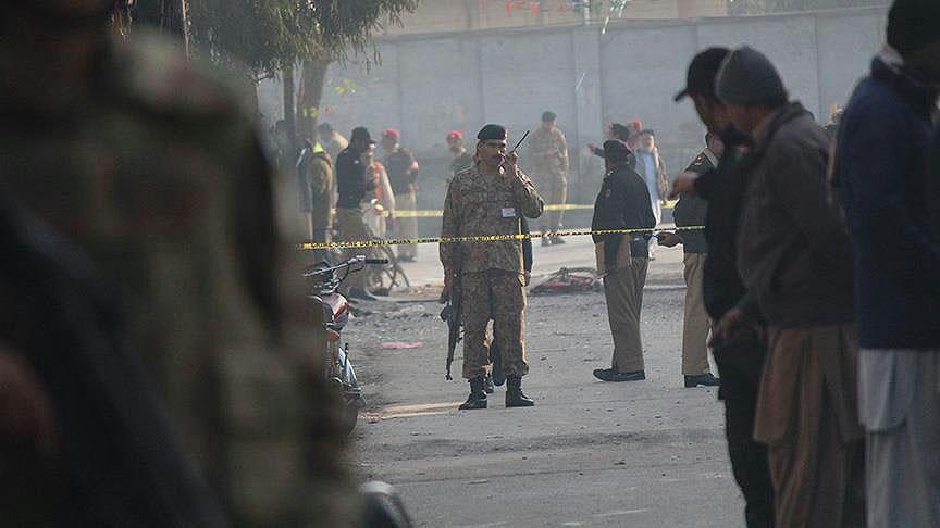 تصویر حمله انتحاری داعش به پاسگاه مرزی پاکستان