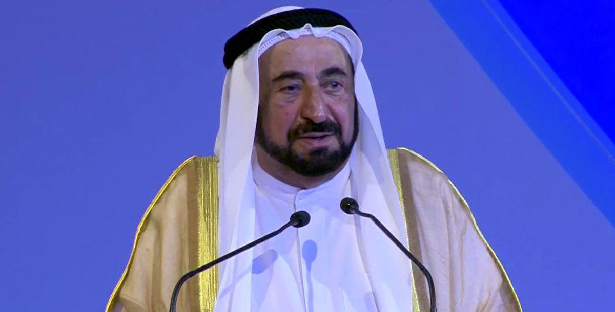 تصویر اذعان غیر مستقیم امیر شارجه امارات به حقانیت امیرالمومنین علیه السلام