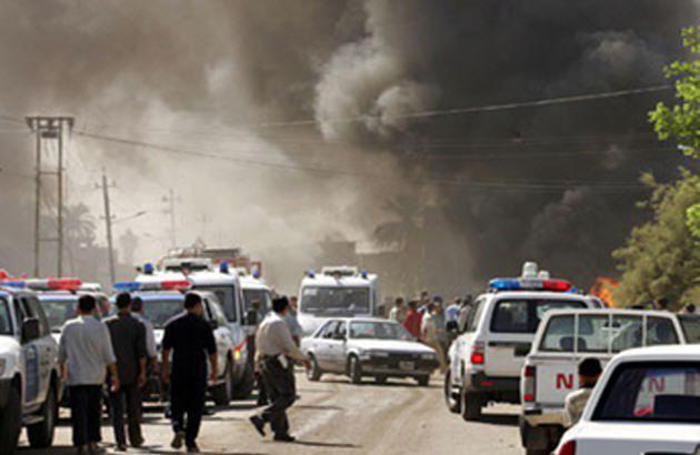 تصویر ۳ حادثه تروریستی در کرکوک