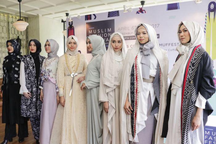 تصویر در پی گرایش روز افزون به پوشش اسلامی؛ افتتاح آموزشگاه طراحی لباس اسلامی در اندونزی