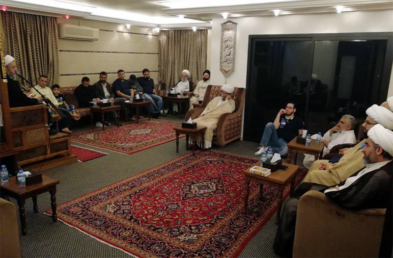 تصویر فعالیت های دفتر مرجعیت شیعه در کشور لبنان