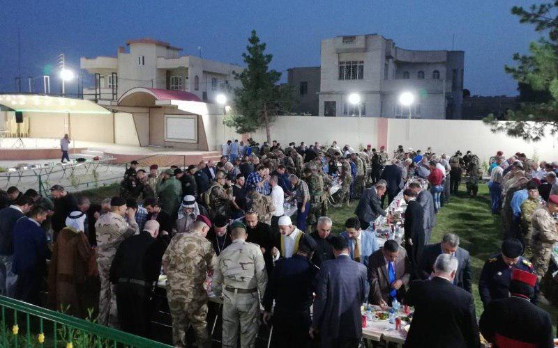 تصویر کلیسای «برطله» عراق مراسم افطار ماه رمضان برگزار کرد