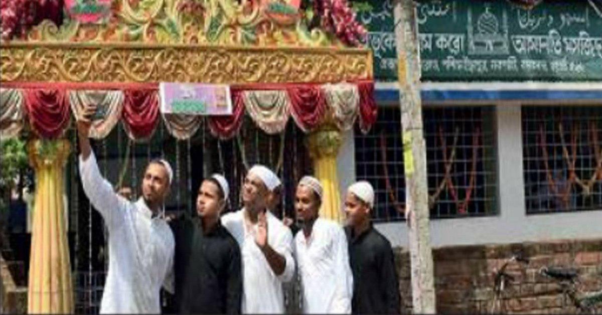 تصویر مسجدی در هندوستان که توسط متولیان هندو اداره می شود