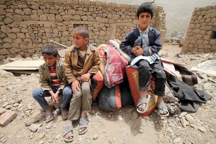 تصویر سازمان ملل: 5 هزار خانواده یمنی در الحدیده آواره شدند
