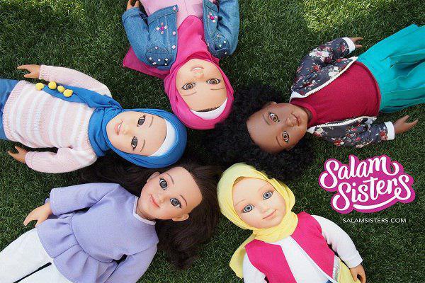 تصویر ورود «خواهران سلام» به بازار بریتانیا