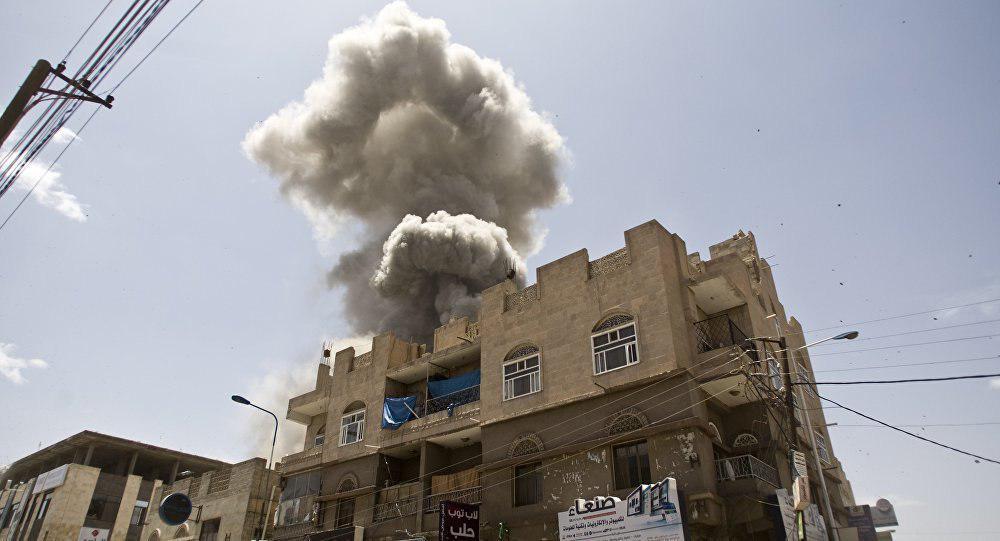 تصویر شهادت 5 یمنی در حمله ائتلاف سعودی به صعده