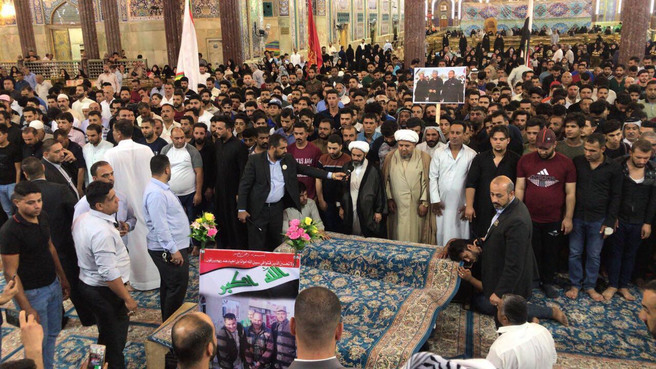تصویر داعش گروگان های شیعه خود را به شهادت رسانید