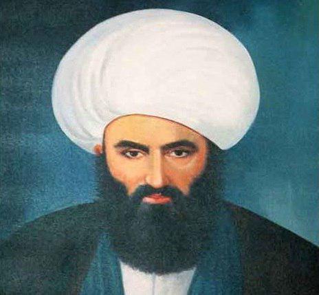 تصویر اطاعت شاه عباس از دستور مقدس اردبیلی