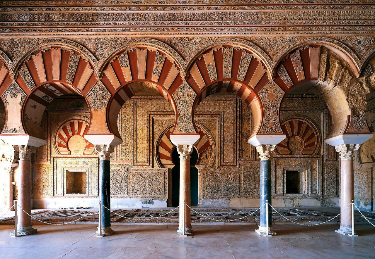 تصویر ثبت مدینة الزهراء از آثار اسلامی کشور اسپانیا در یونسکو