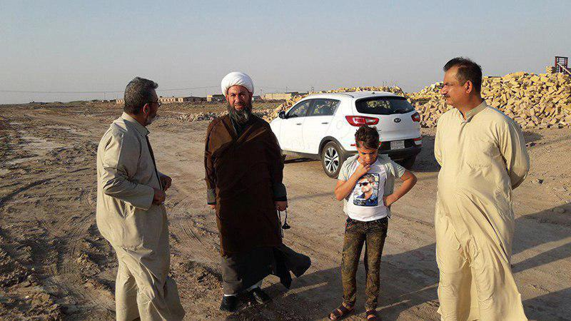 تصویر احداث حسینیه فاطمه معصومه سلام الله علیها در میسان عراق
