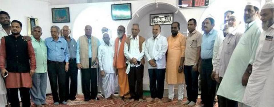 تصویر برای نخستین بار؛ یکی از مساجد جنوب هند درهایش را به روی هندوها گشود