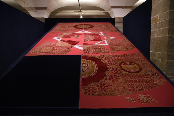 تصویر برپایی نمایشگاه هنری «اسلام و فلورانس» در ایتالیا