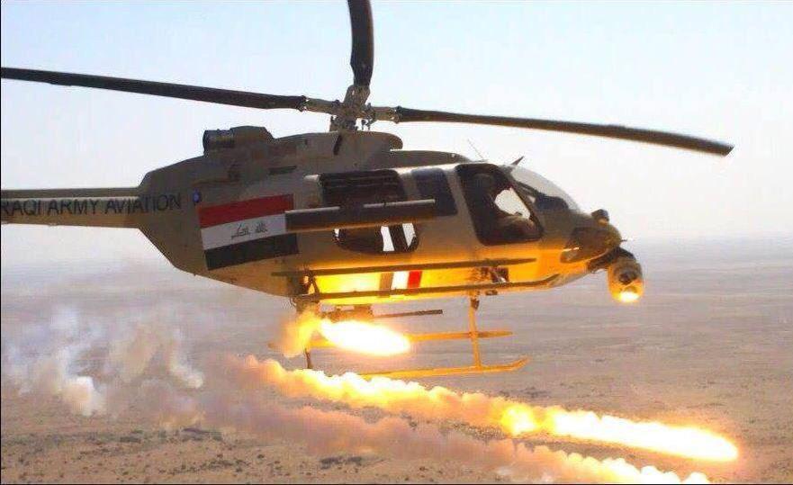 تصویر هلاکت ۱۶ تروریست در حمله هوایی ارتش عراق به طوز خورماتو