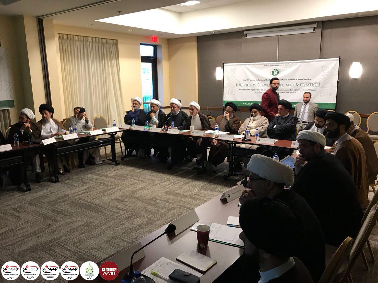 تصویر برگزاری هفدهمین «كنفرانس مجلس علمای شيعه ی آمريكای شمالی»