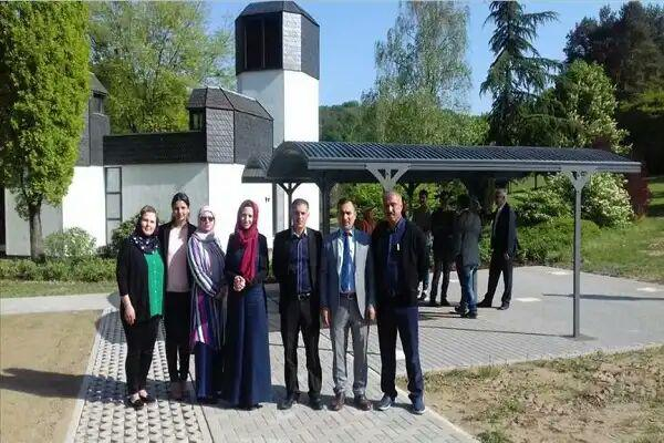 تصویر افتتاح قبرستان اسلامی در «زارلاند» آلمان