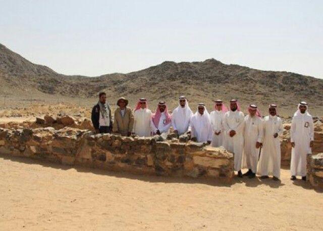 تصویر کشف مسجدی باستانی در عملیات حفاری عربستان