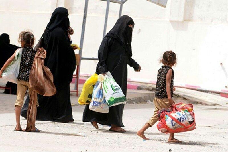 تصویر آواره شدن 35 هزار شهروند یمنی در استان الحدیده