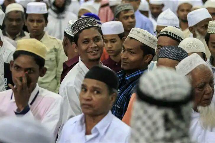 تصویر هشدار فعالان حقوقی در باره ی تکرار فاجعه ی آوارگی مسلمانان، در هند