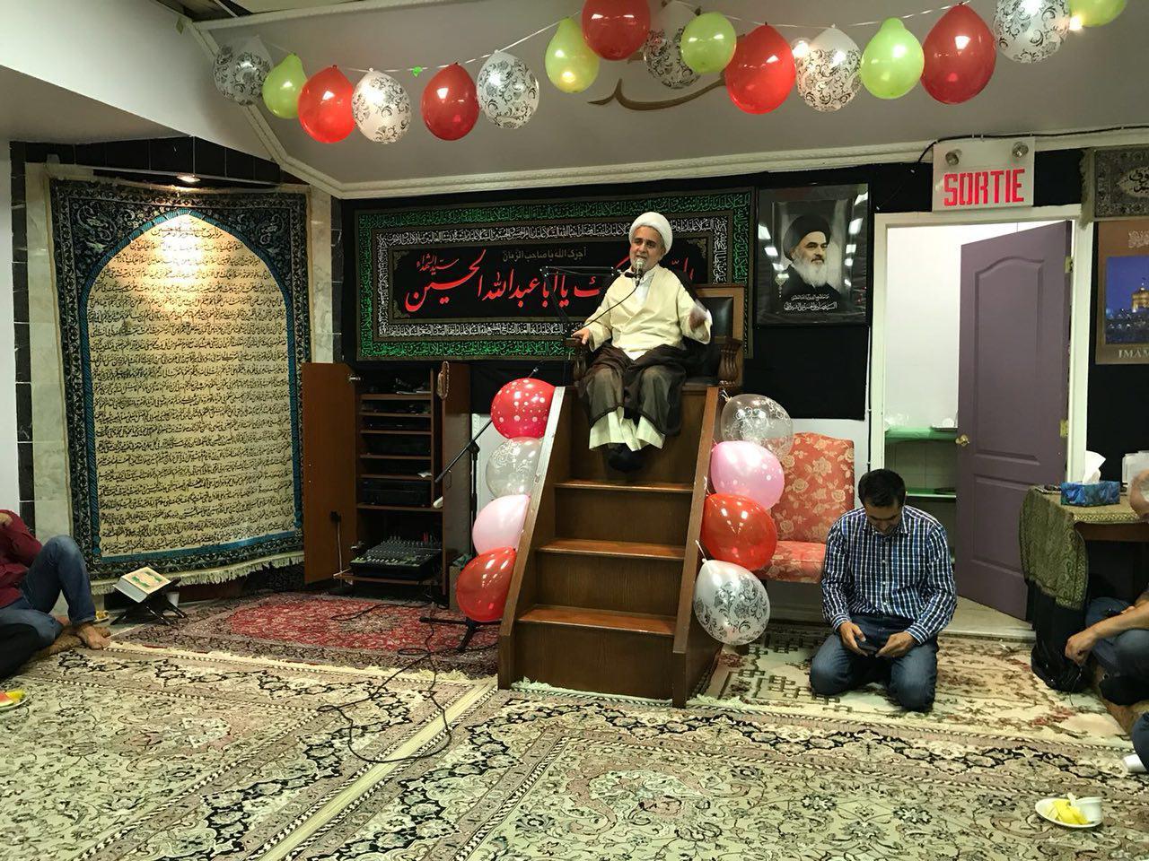 تصویر جشن میلاد با سعادت امام رضا علیه السلام در کشور کانادا