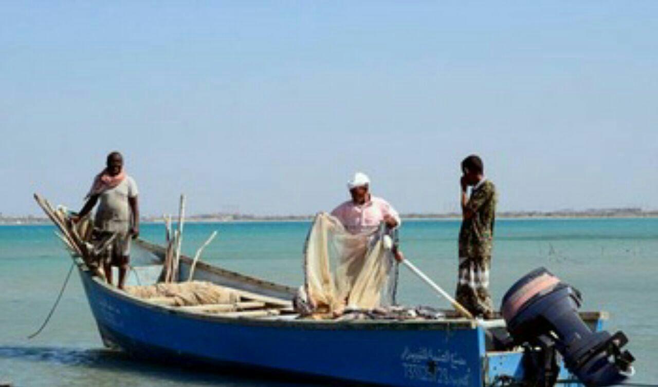 تصویر حمله عربستان به چهار قایق ماهیگیری یمنی