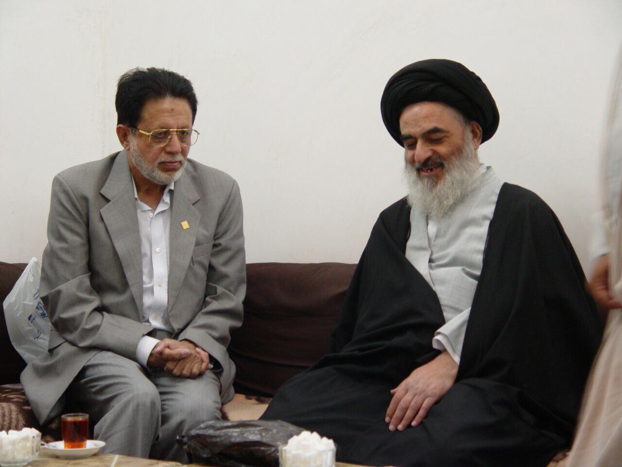تصویر موسس و بانی حسینیه جنت البقیع در هند درگذشت