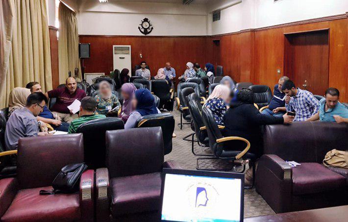 تصویر پایان دوره آموزش مربیان TOT در موسسه طریق النور در شهر بغداد