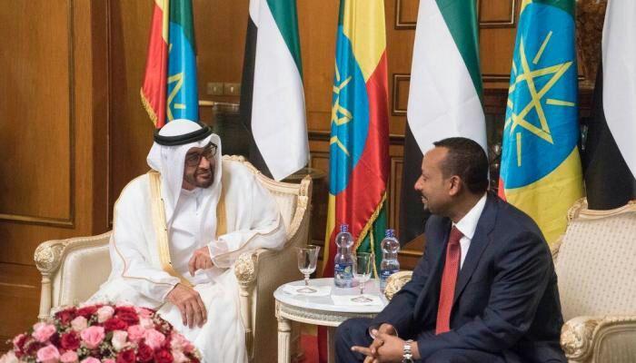 تصویر نخستوزیر اتیوپی خطاب به ولیعهد ابوظبی:    به ما عربی یاد دهید تا اسلام را به شما آموزش دهیم