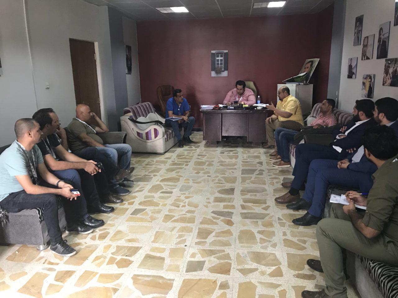 تصویر آمادگی برای ساخت برنامهای «خانه مودت» پروژه ازدواج جوانان عراق